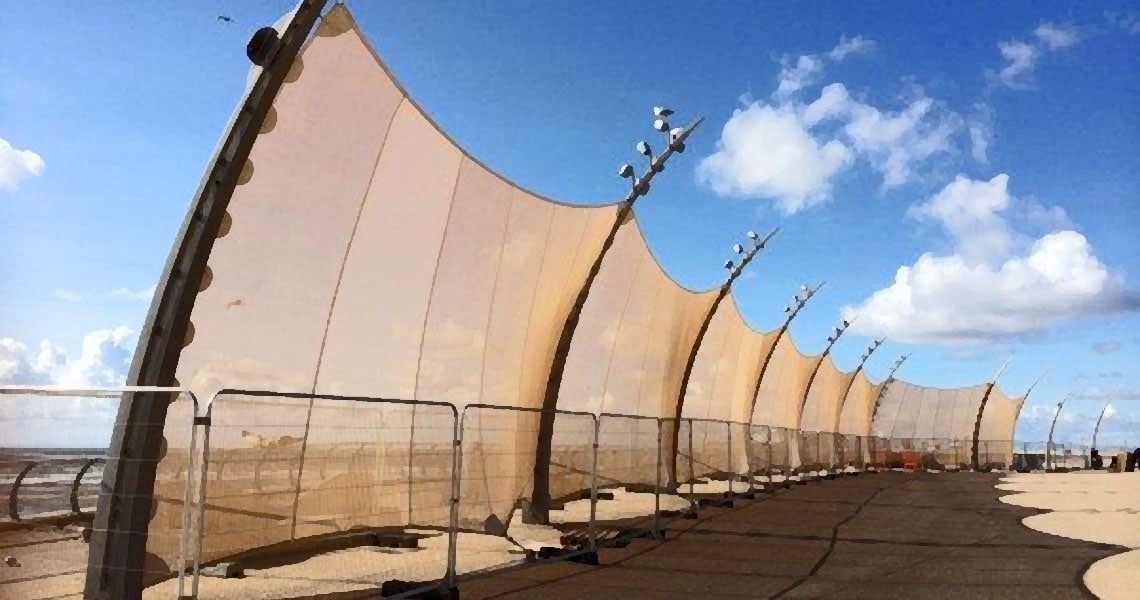 fence from tensile canopies
