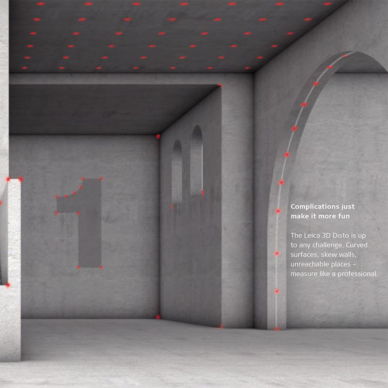 Leica 3D Disto functions 3
