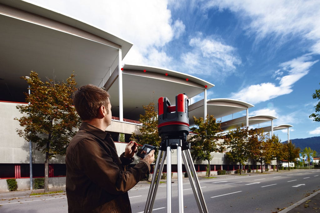 Leica 3D Disto roof laser