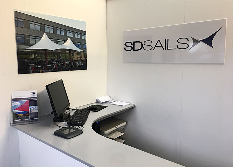 SD Sails office interior