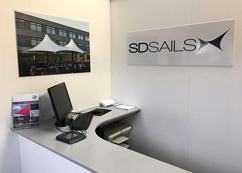 SD Sails office interior